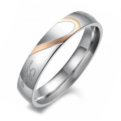 Anillo Mujer AN000127M Love - Acero Inoxidable 316L